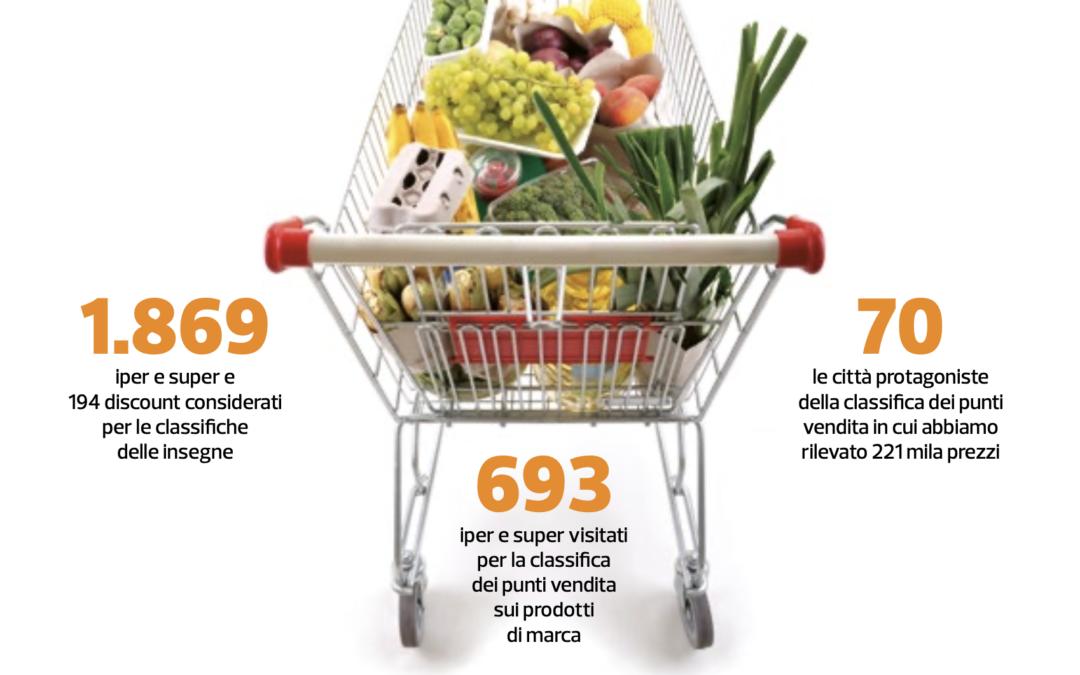 I PUNTI VENDITA FOOD PIU' CONVENIENTI IN ITALIA. Scarica la ricerca pubblicata da Altro Consumo