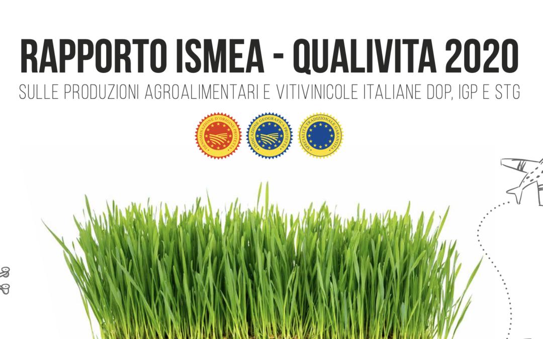 LA PRODUZIONE AGROALIMENTARE E VITIVINICOLA IN ITALIA – RAPPORTO ISMEA – QUALIVITA 2020