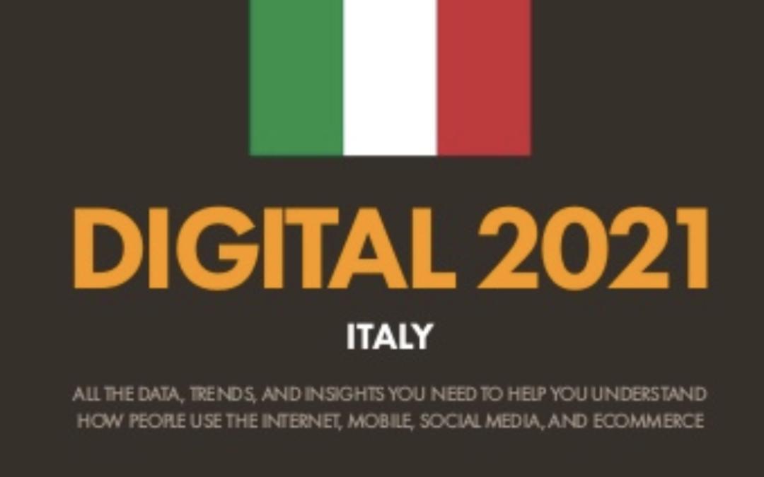 LO SCENARIO DEI SOCIAL MEDIA IN ITALIA. Scarica il report pubblicato da We Are Social