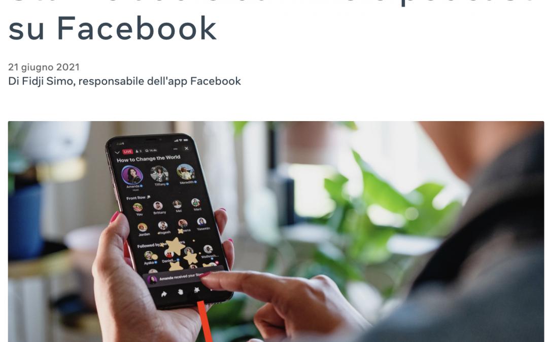 TI PIACE PARLARE DI ARGOMENTI INTERESSANTI? Facebook annuncia 2 nuovi strumenti: Live Audio Rooms e Podcast