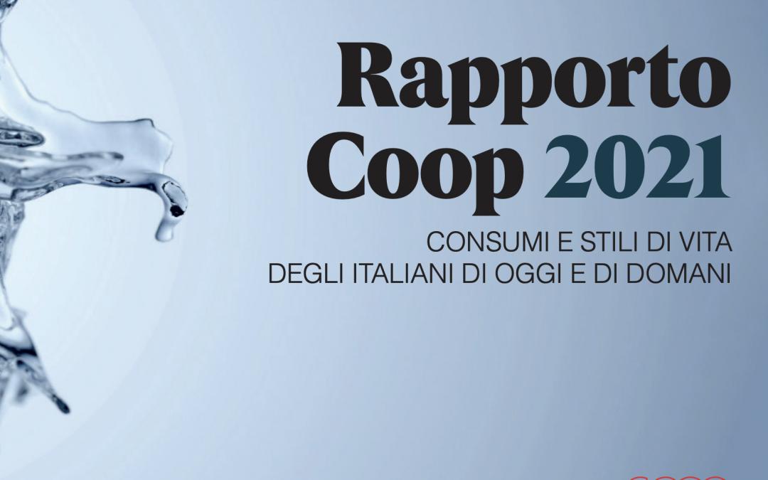 I CONSUMI DEGLI ITALIANI. Scarica il nuovo rapporto 2021 pubblicato da Coop Italia